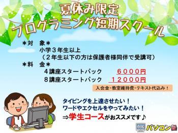 市民パソコン塾夏プログラミング講座.JPG