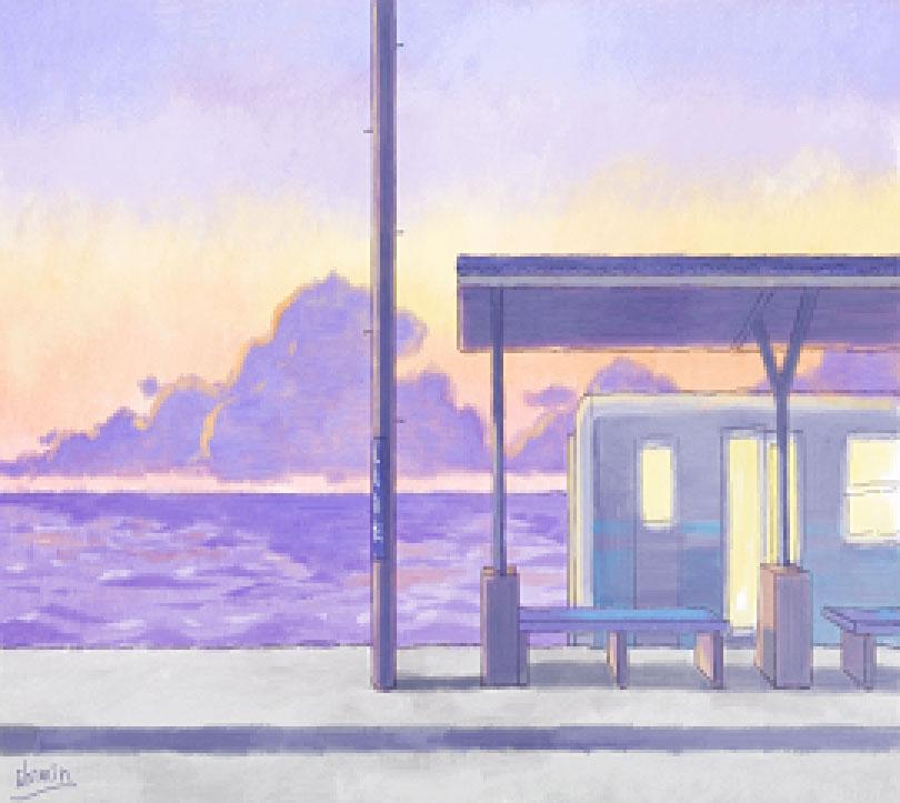 ペンタブで描く水彩画講座
